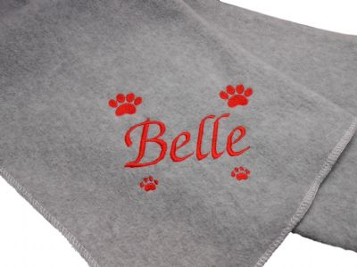 Personalised Dog Blanket.1